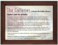 "OPEN CALL TO ARTISTS - ""THE GALLERIES"""
