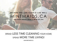 MINT MAIDS House Cleaning Services - FREE Online Estimates!