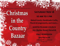 Christmas in the Country Bazaar