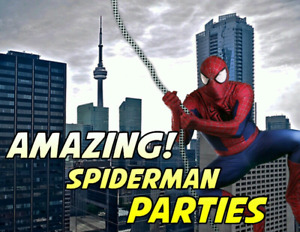 SPIDER-MAN SUPERB BIRTHDAY PARTY PERFORMANCE / VISIT