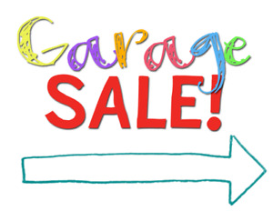Garage Sale! Sat Aug 18 in Newmarket!