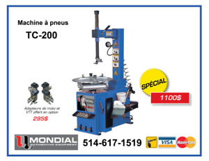 Machine a pneu TC-200 machine a tire Balanceur machine a pneus !
