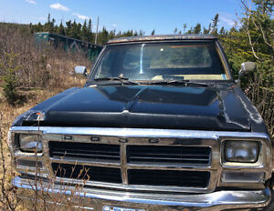 80-90's. Dodge pickups For parts or repair