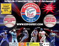 Montreal Expos - Expos Fest - Dimanche le 3 Avril 2016