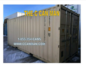 Shipping containers new and used!