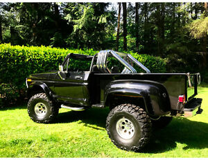 1977 F150 Ford Four Wheel Drive Soft Top