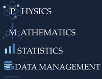 Math, Statistics, Data Management and Physics Tutor
