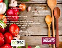 Food Handlers Certification Course