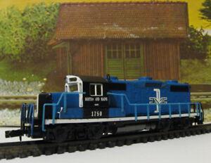 Ho model train, dcc diesel loco, GP18, B&M, made by Atlas, new