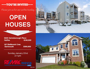 Open House - Panoramic views across the Bedford Basin