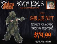 Ghillie Suit on sale for Halloween Costume or Hunting