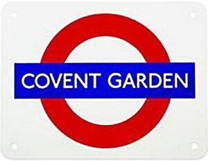 COVENT-GARDEN-London-Underground-enamelled-steel-fridge-magnet-gg
