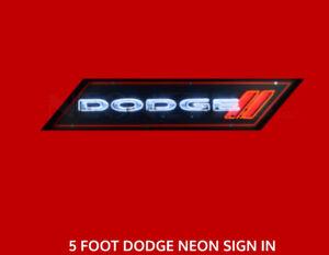 60inx12x6 neon dodge sign