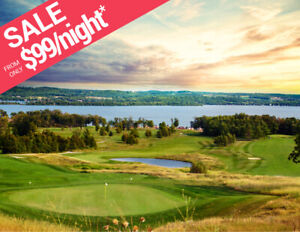 RICE LAKE Golf Cottages For Rent From $99/Night | KAWARTHAS