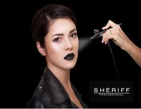 Airbrush Make-up Classes with Sheriff Cosmetics
