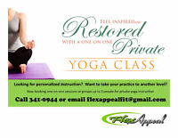 Yoga Instruction--one on one or small group