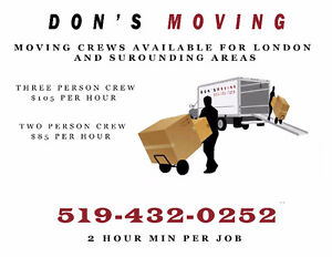 Professional mover's for London and surrounding areas available London Ontario image 1