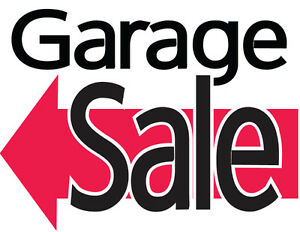 Garage sale July 30th and July 31st