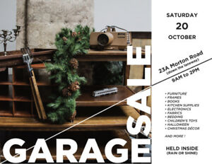 EAST END GARAGE SALE