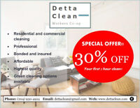 Fast, Affordable, Professional Cleaning Services!