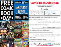 Comic Book Addiction's FREE COMIC BOOK DAY! event - 10 am - 4 pm