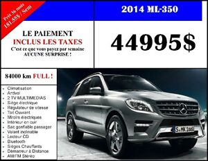 2014 Mercedes-Benz M-Class ML350 BlueTEC 4MATIC NAVIGATION VUS