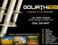 GoliathTech Underpinning - cracked or sinking foundations