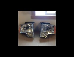 Ford F150 2013 Factory Headlights