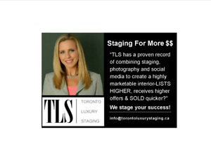 Staging For More $$$, Home Staging, Interior Decor, TLS