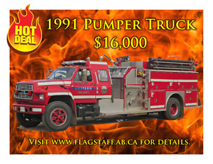 1991 Fire Pumper Truck