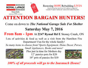 National Garage Sale for Shelter