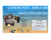 JOB FAIR March 9th- Lots of Employers!