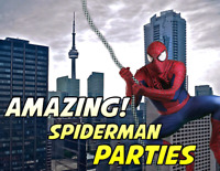 ULTIMATE SPIDERMAN BIRTHDAY PARTY EXPERIENCE