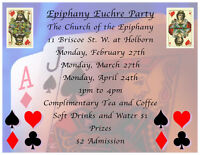 Epiphany Euchre Party