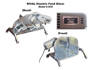 Rival Electric Meat/Cheese Slicer