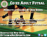 Sign Up for Co-Ed Futsal