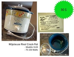 Mijoteuse Rival Crock-Pot