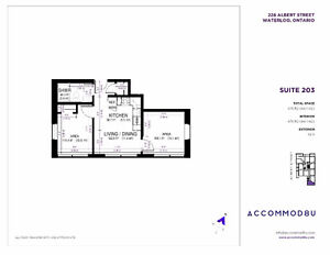 Apartment for Subletting/Lease Transfer