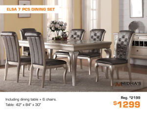 Best Deals of the Year Now up to 50% OFF All Dining Table Sets!