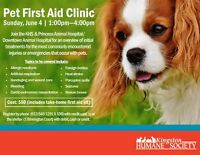 Pet First Aid Course - Kingston Humane Society
