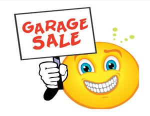 4-HOUSEHOLD GARAGE SALE