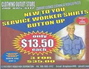COVERALL QUALITY WORKSHIRTS