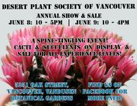 Cactus & Succulent Show & Sale