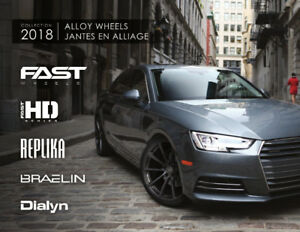 AFTERMARKET RIMS AND TIRES! REPLIKA - FAST WHEELS - BRAELIN