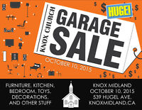 Huge Knox Church Garage Sale
