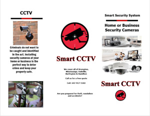 Security Cameras (CCTV) Brampton, Mississauga and parts of GTA