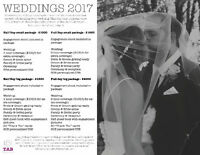 CALLING OUT ALL 2017 BRIDES! Book your wedding today!! :)