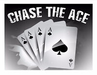 St. Patrick's Church Hall Chase the Ace - Jackpot is $7004.00