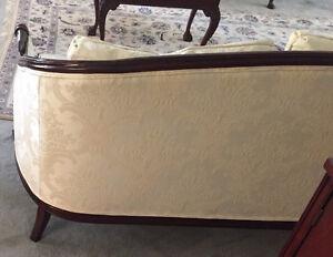 Elegant Walnut-trim Antique Sofa Kitchener / Waterloo Kitchener Area image 2