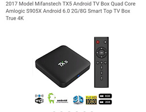 Brand new TX5 ANDROID BOX 2G